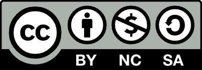 Creative Commons Reconocimiento-NoComercial-CompartirIgual 4.0 Internacional
